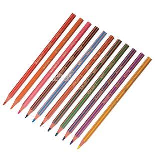 Bic Tropicolors 2, Набор цветных карандашей шестиугольных, 12 шт.