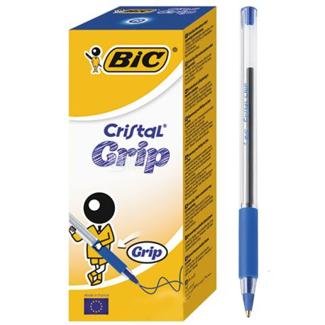 Bic, 20 шт., Набор синих ручек, Cristal Grup