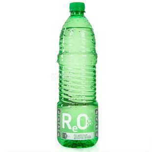 ReO Lightly carbonated water, 0.95 L, PET, to improve metabolism, PAT