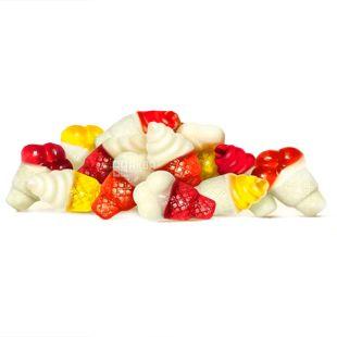 Roshen, 100 г, Желейні цукерки, З фруктовим соком і йогуртом