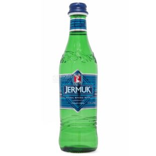 Джермук Вода минеральная 0,33 л, Газированная, Cтекло