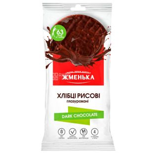Zhmenka, 100 g, Bread rice, In dark chocolate