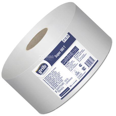Grite Super Professional 180 Т, 1 рул., Туалетная бумага Грите Супер Профешнл, 2-х слойная
