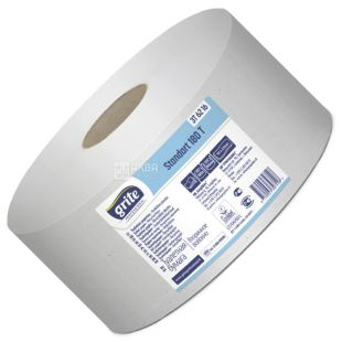Grite Standart 180 T professional, 180 м, Туалетний папір, двошаровий Standart