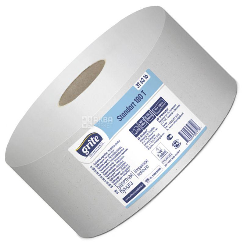 Grite Standart Professional 180 Т, 1 рул., Туалетний папір Грите Стандарт Профешнл, 2-х шаровий
