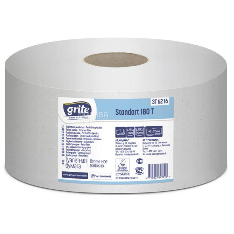 Grite Standart 180 T professional, Toilet paper, double layer 180 m
