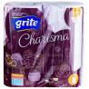 Grite Charisma Luxury, 2 рул., Рушники паперові Гріте Харизма, 4-х шарові, 70 відривів