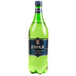 Джермук, 1 л, Вода минеральная газированная, ПЭТ