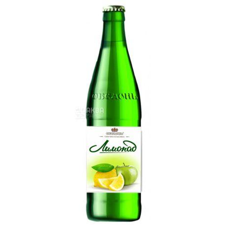 Оболонь, 0,5 л, Сладкая вода, Лимонад