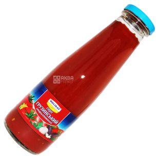 Holiday, 480 g, Georgian Sauce, Glass