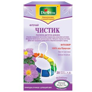 Dr. Phyto Detox, 20 pcs., Tea, Chistyk