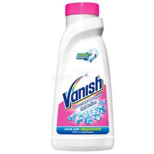 Vanish Oxi Action, 450 мл, Пятновыводитель и отбеливатель, Жидкий