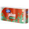 Grite Plius Ecological, 8 рул, Туалетний папір, Тришаровий