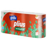 Grite Plius Ecological, 8 rolls, Toilet paper, Three-ply