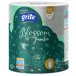 Grite Blossom, 1 рул, Паперові рушники, Двошарові