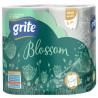 Grite Blossom, 4 рул., Туалетная бумага Грите Блоссом, 3-х слойная
