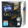 Grite, Orchidea gold, 2 рул., Паперові рушники Гріте Орхідея Голд, 3-шарові, 77 відривів
