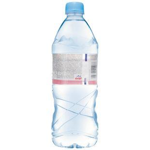 Evian 1 л, Негазированная вода, ПЭТ
