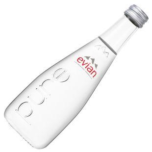 Evian, Вода негазированная, 0,33 л, Стекло