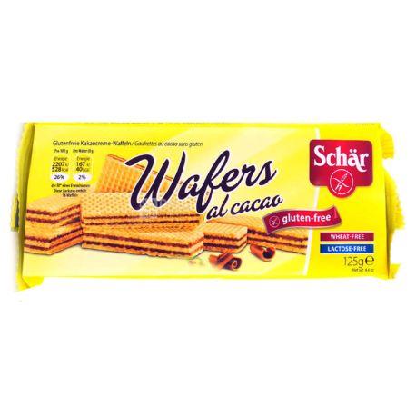 Dr.Schar, 125 г, Вафли диетические С какао