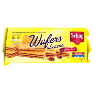 Dr.Schar, 125 g, diet waffles With cocoa