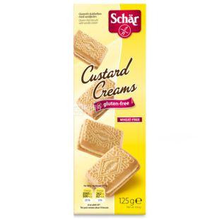 Dr.Schar, 125 g, Dietary Cookies, With custard
