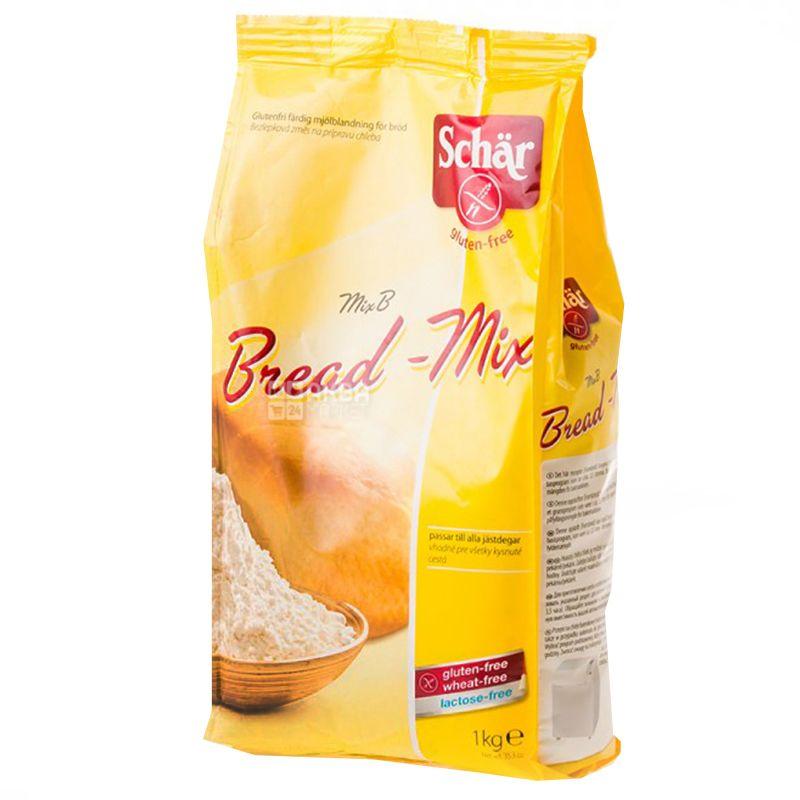 Dr.Schar, 1 kg, Mix for baking bread, Mix B - Bread-Mix