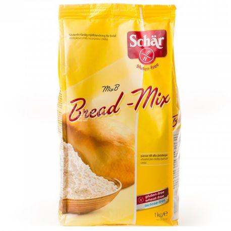 Dr.Schar, 1 кг, Смесь для выпекания хлеба, Mix B - Bread-Mix