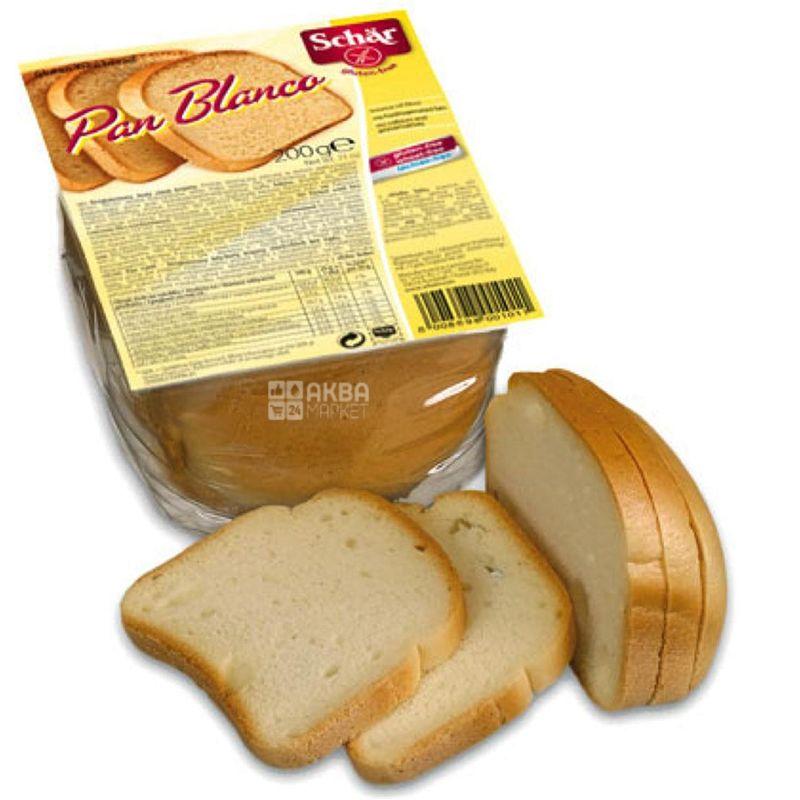 Dr.Schar, 200 г, Хлеб белый безглютеновый, Pan Blanco