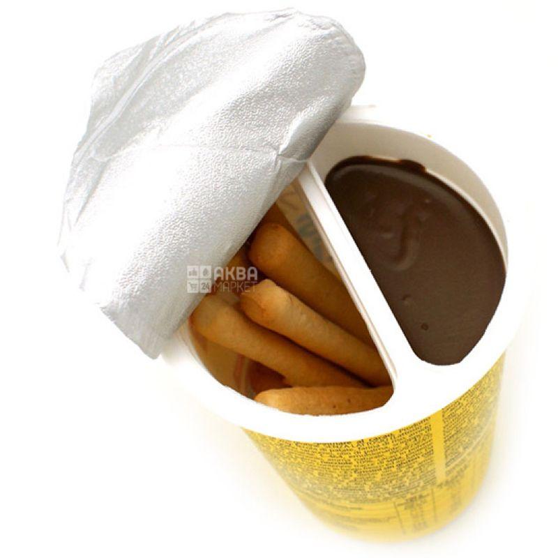 Dr.Schar, 52 г, Хлебные палочки с какао, Безглютеновые