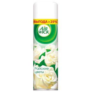 Air Wick, 500 мл, Освежитель воздуха, Райские цветы, Спрей