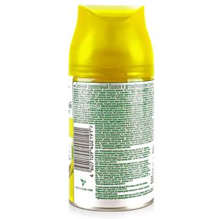 Air Wick, 250 ml, Air Freshener, Lemon and Ginseng, Replacement Bottle