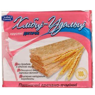 Bread Udalcy, 100 g, Bread, Wheat-buckwheat-barley