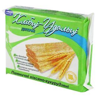 Bread Udalcy, 100 g, Bread, Wheat-oat-corn