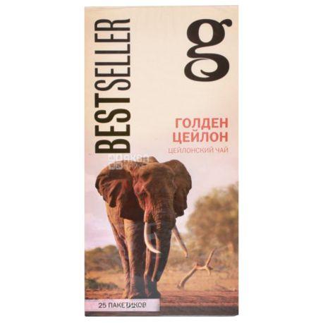 Grace, Golden Ceylon, 25 пак., Чай Грейс, Голден Цейлон, черный