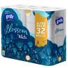 Grite Blossom, 32 рул., Туалетная бумага Грите Блоссом, 3-х слойная