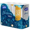 Grite Blossom, 32 рулона, Туалетний папір, Тришаровий