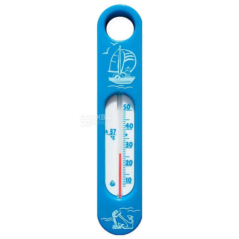 Склоприлад, Термометр побутовий, Для води, Сувенір В-2, Блакитний