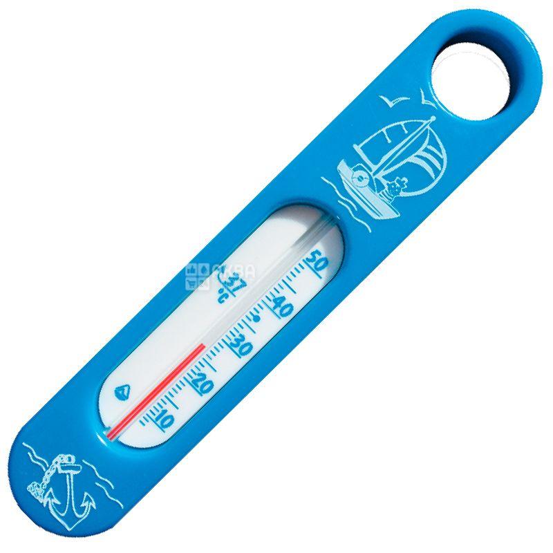 Стеклоприбор, Термометр бытовой, Для воды, Сувенир В-2, Голубой