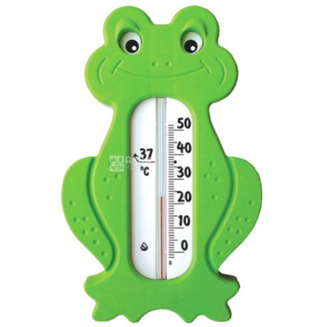 Стеклоприбор, Термометр, бытовой для воды, Сувенир В-3, салатовый