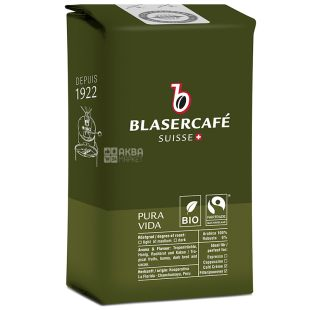 Blaser Cafe, 250 г, зернова кава, Pura Vida Bio