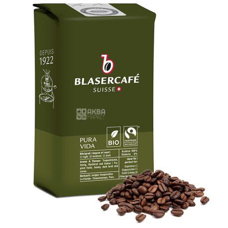 BlaserCafe, Pura Vida, 250 г, Кофе Блазер, Пура Вида, средней обжарки, в зернах, органический