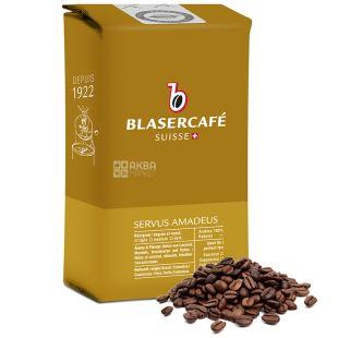 BlaserCafe, Servus Amadeus, 250 г, Кава Блазер, Сервус Амадеус, середнього обсмаження, в зернах