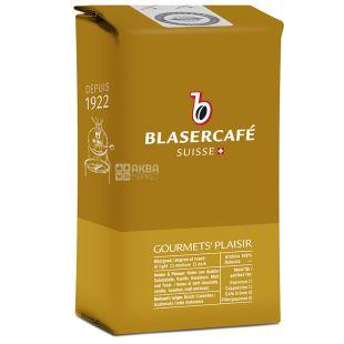 BlaserСafe, Gourmets Plaisir, 250 г, Кофе Блазер,Удовольствие для гурманов, средней обжарки, в зернах