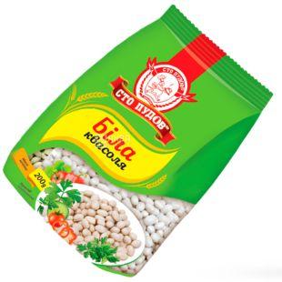 One hundred pounds, 200 g, White Beans