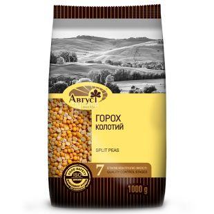 August, 1 kg, Groats, Peas