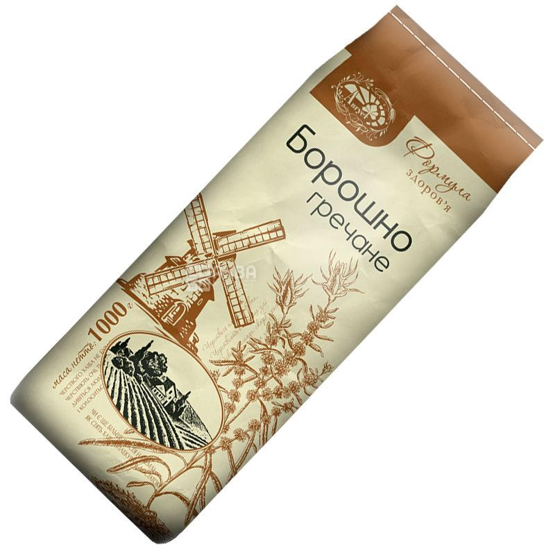 August, 1 kg, Flour, Buckwheat