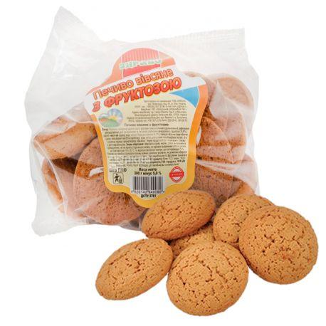 Здраво, 300 г, Печиво, Вівсяне на фруктозі