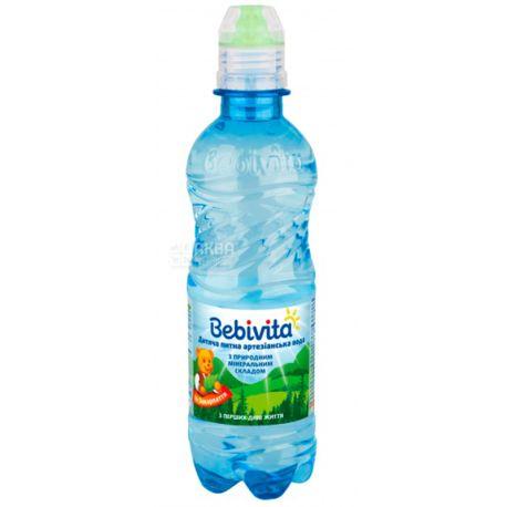 Bebivita, Спорт, 0,33 л, Бебівіта, Вода дитяча негазована, з перших днів життя, ПЕТ