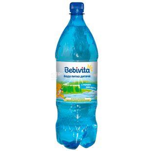 Bebivita, 1,5 л, Бебивита, Вода детская негазированная, с первых дней жизни, ПЭТ